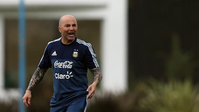 Argentina 'deserve' to go to Russia, says Sampaoli