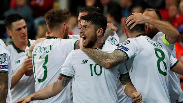 Ireland draw Denmark in World Cup play-off, Northern Ireland land Swiss