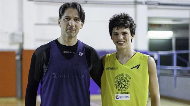 La dinastia prosegue: a 54 anni, Mario Boni gioca contro il figlio Giacomo