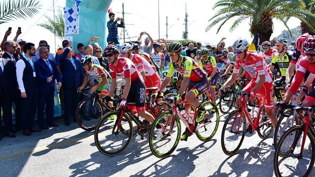 Cumhurbaşkanlığı Türkiye Bisiklet Turu'nda heyecan başladı