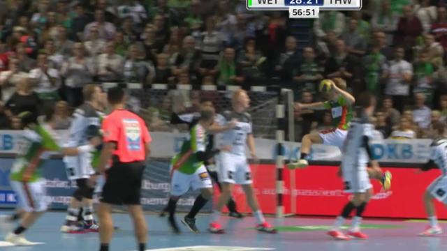 Kempa übers ganze Feld: Die spektakulärsten Handball-Tore im September