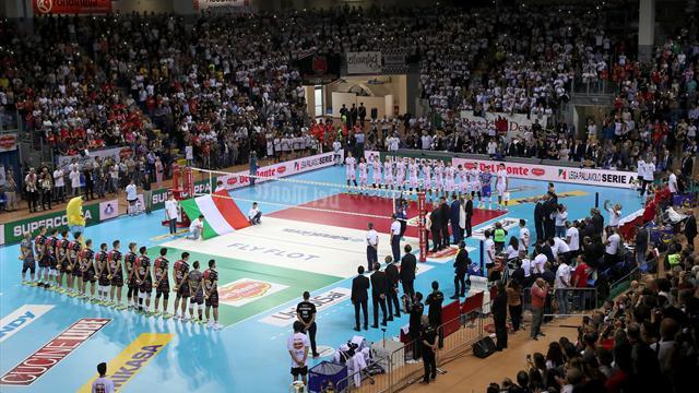 Tutte le squadre favorite: Civitanova, Perugia, Modena e Trento in lotta per lo scudetto