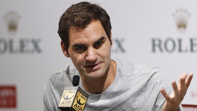 Federer en huitièmes de finale à Shanghai — Tennis