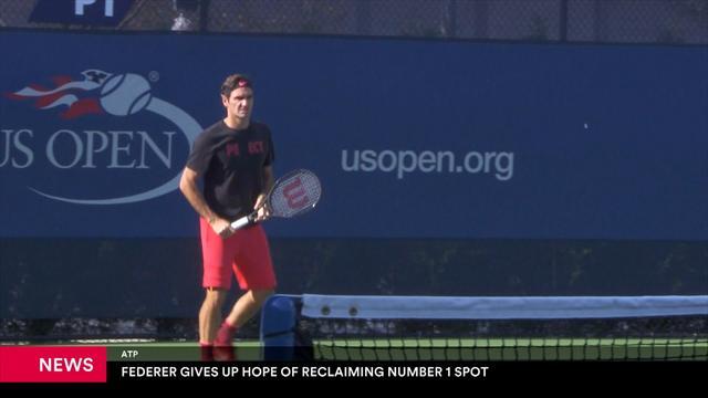 Federer gibt Hoffnung auf Nummer eins der Welt auf