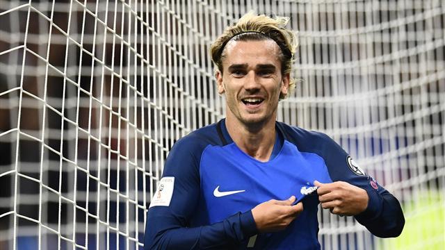Le but de Griezmann qui a délivré les Bleus et le Stade de France