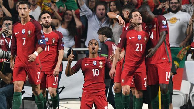 Clasificación Mundial 2018, Portugal-Suiza: Por mí y por todos mis compañeros (2-0)