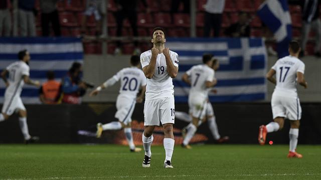 La Grèce barragiste, la Belgique termine par une victoire : les autres résultats du soir