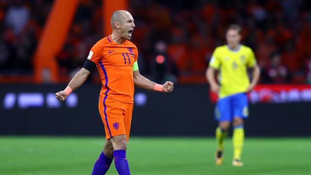 Robben-Doppelpack reicht nicht fürs Fußball-Wunder