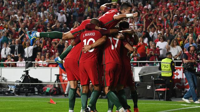 Le portugal domine la suisse 2 0 et verra la russie - Qualification portugal coupe du monde ...