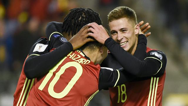 Hazard brothers take chances in Belgium win over Cyprus