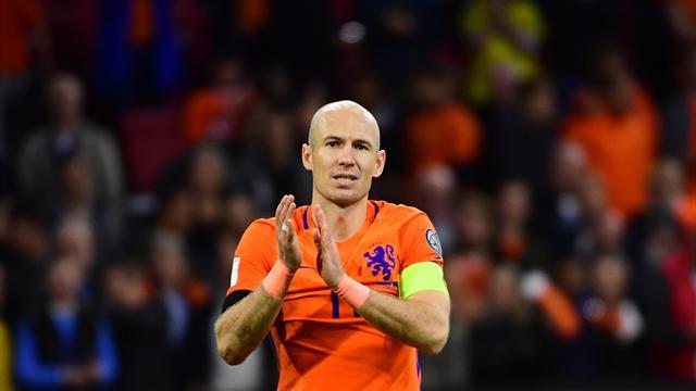 Роббен объявил обуходе изсборной Нидерландов пофутболу
