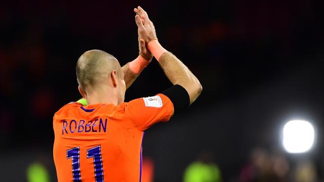 Après une dernière déconvenue, Robben arrête avec les Oranje