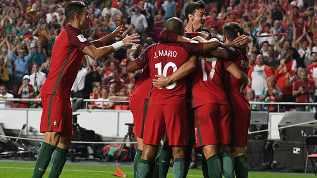 Portugal seal place at finals with win over Swiss