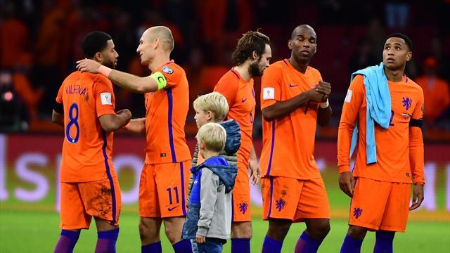 """Pressestimmen nach WM-Aus: """"Holland bucht Sommer-Urlaub 2018"""""""
