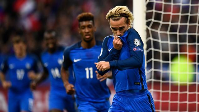 La France est officiellement tête de série pour le tirage au sort