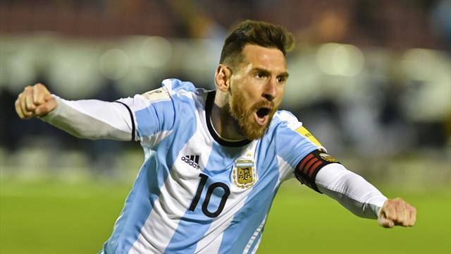 Messi envoie l'Argentine en Russie, le Chili au tapis !