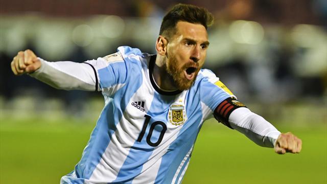 Uruguay, Argentina y Colombia acompañan a Brasil al Mundial de Rusia