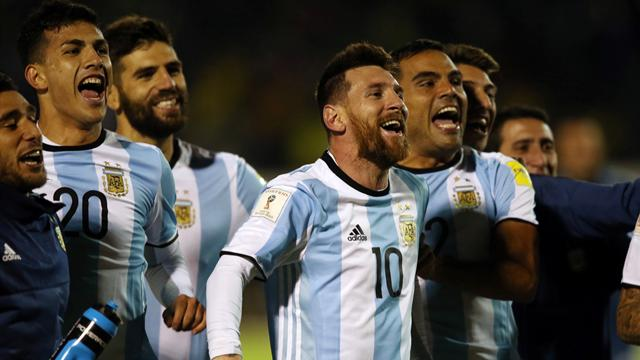 Messi hits hat-trick to see Argentina through to World Cup