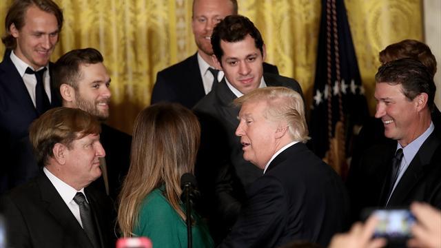 Малкин, Кросби и «Питтсбург» принесли в Белый дом к Трампу Кубок Стэнли
