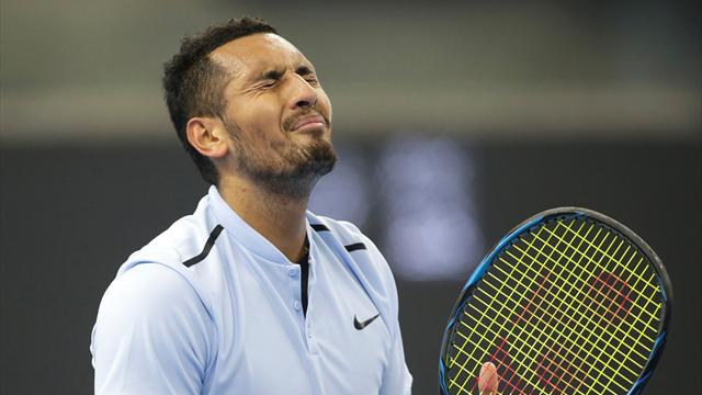 Kyrgios fined £7,500 for Shanghai walk off