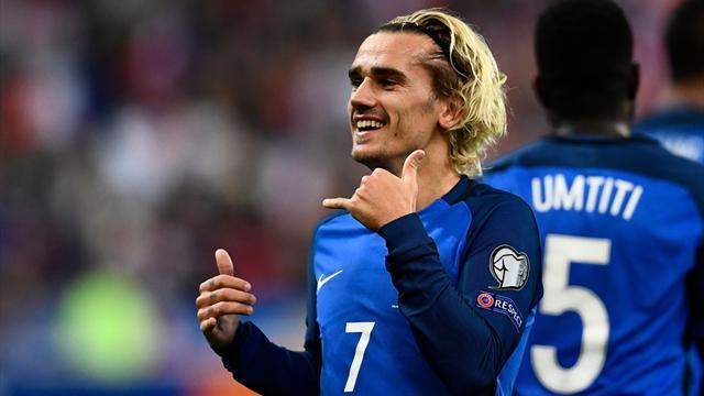 Matches amicaux, phase de groupe, tableau final : le programme télé des Bleus au Mondial