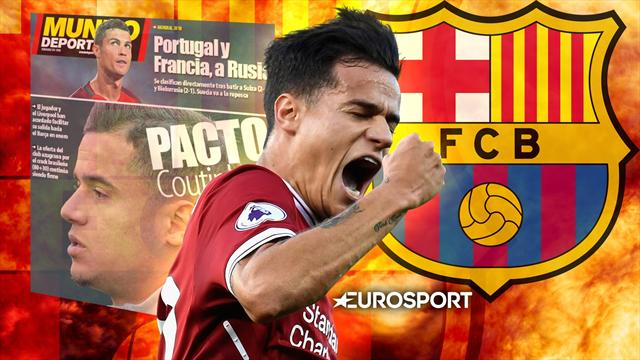 Euro Papers: Barcelona agree £100 million Philippe Coutinho deal with Liverpool