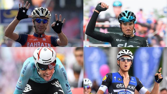 Un anno di ciclismo all'Italiana e quello che verrà: Nibali, Aru, Trentin, Moscon