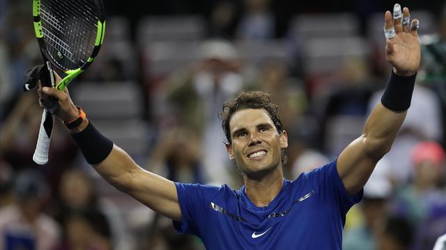 Masters 1.000 de Shanghái, Nadal-Donaldson: Sin despeinarse y en menos de una hora (6-2 y 6-1)
