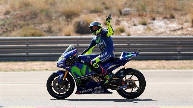 """Rossi è carico per Motegi: """"Ho recuperato bene in queste due settimane"""""""