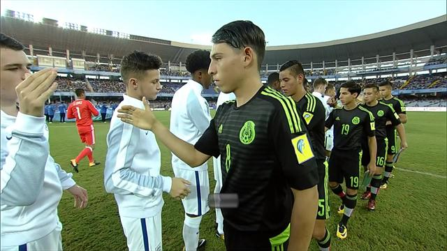 Highlights: England survive Mexico comeback