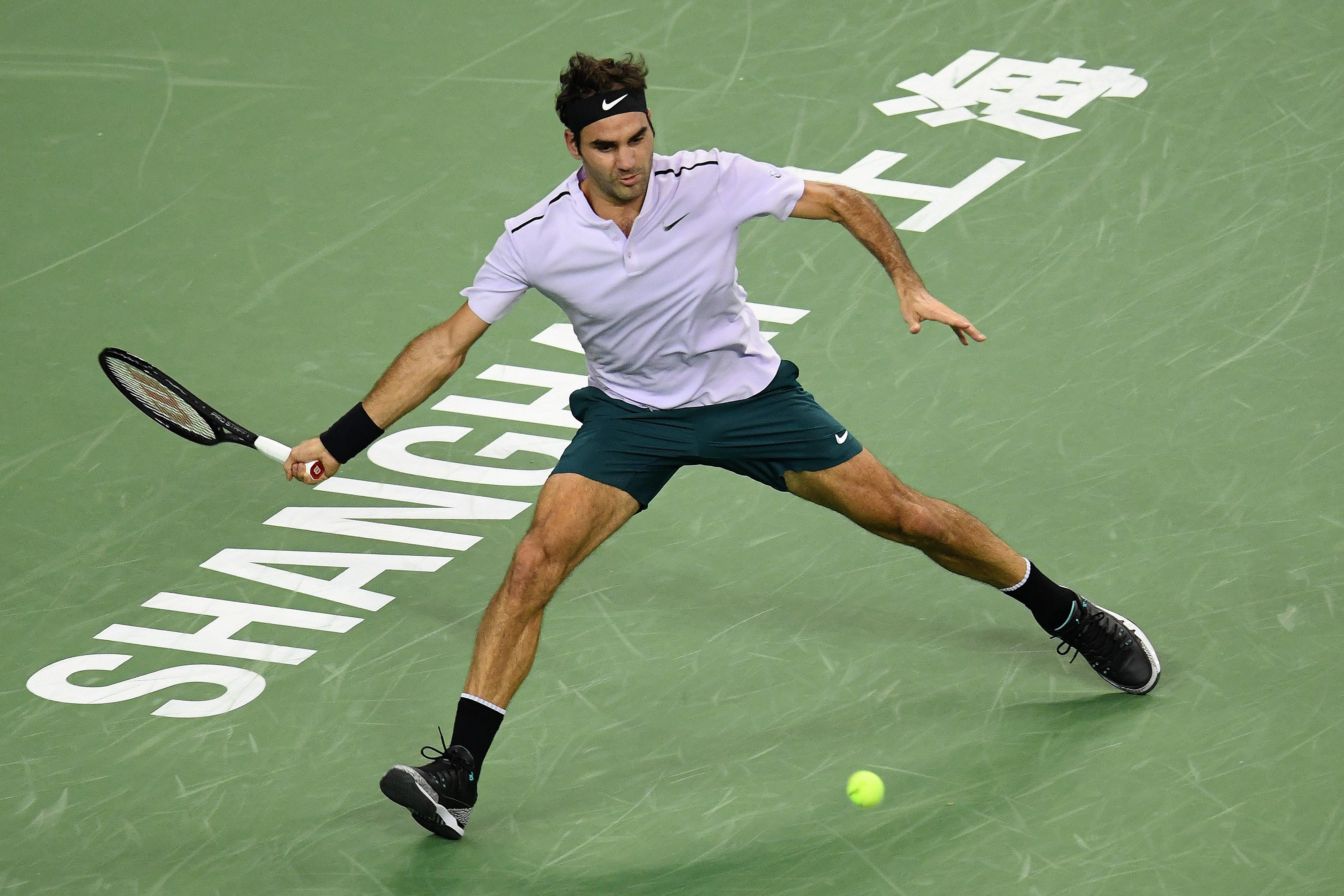 Roger Federer au Masters de Shanghai