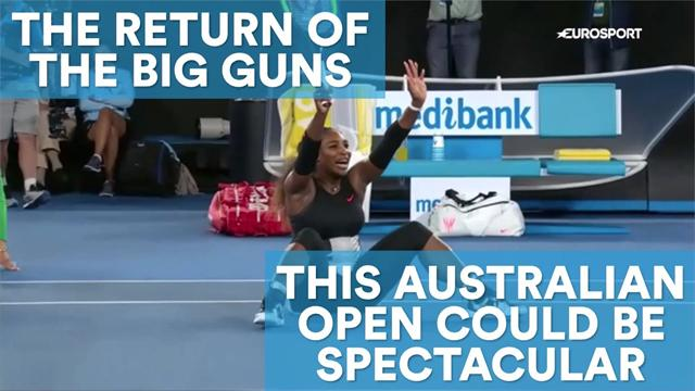 The return of the big guns: This Australian Open could be spectacular