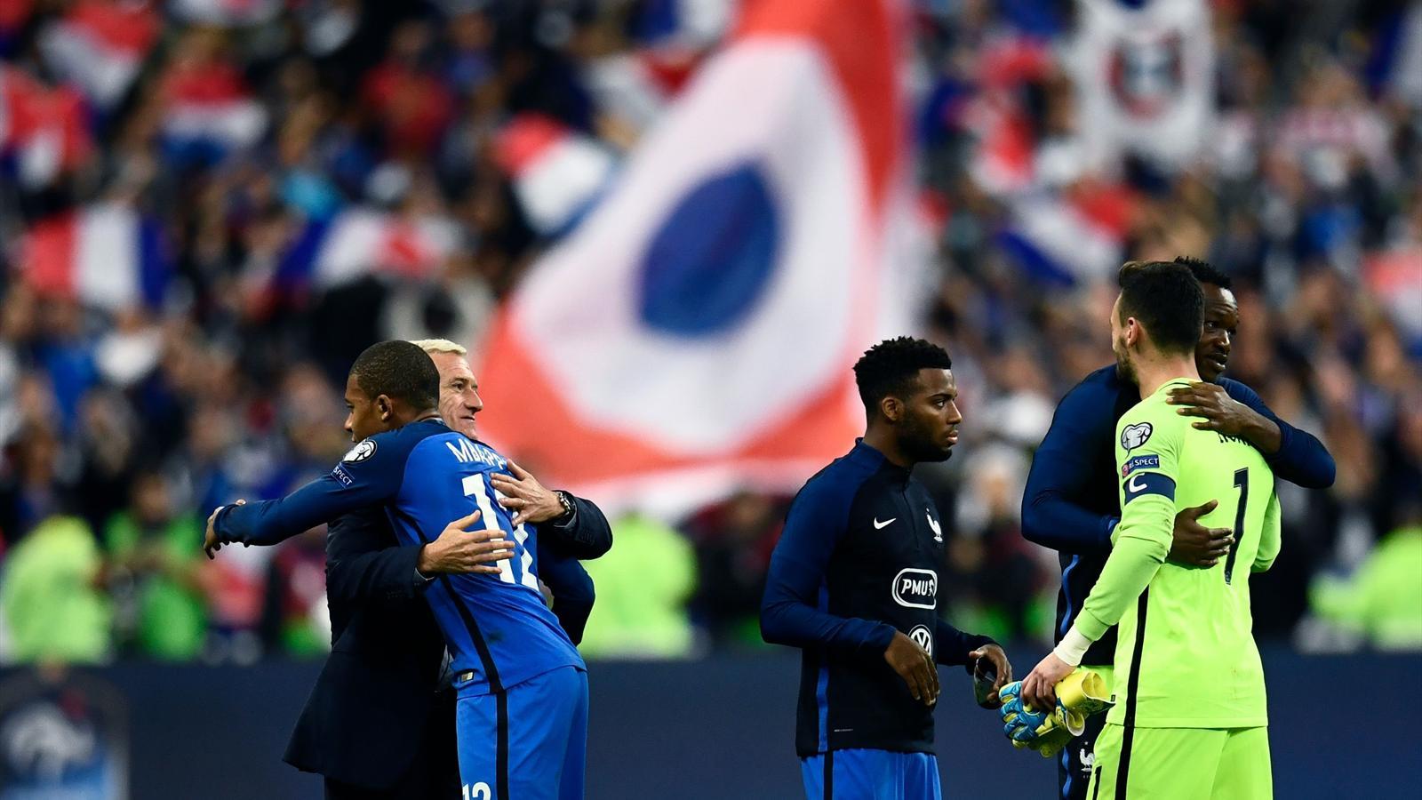 Equipe de france ayez confiance en deschamps coupe du - Resultat foot feminin coupe de france ...