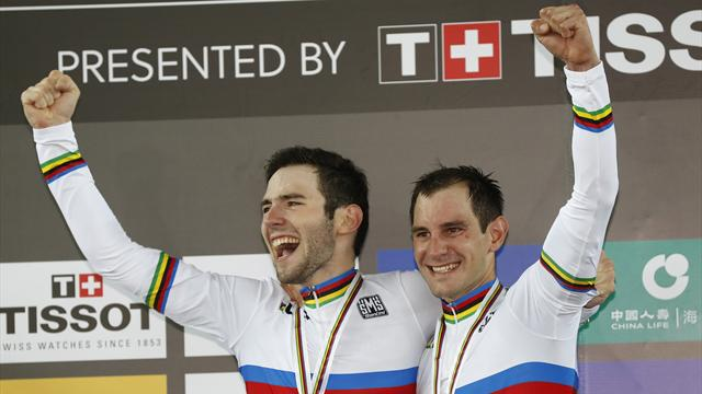 World champions Kneisky and Thomas looking to make their Six Day mark