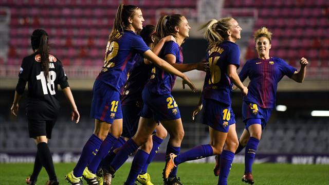 Champions femenina, FC Barcelona - Avaldsnes IL: El Barça supera el trámite y pasa a octavos (2-0)