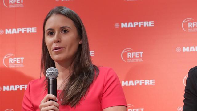 """Anabel Medina, en Eurosport: """"Es una oportunidad única y el objetivo es ascender"""""""