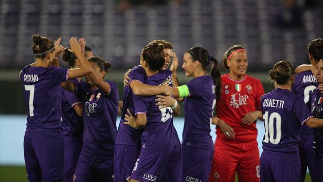 La Fiorentina elimina il Fortuna Hjorring, il Brescia l'Ajax: entrambe agli ottavi