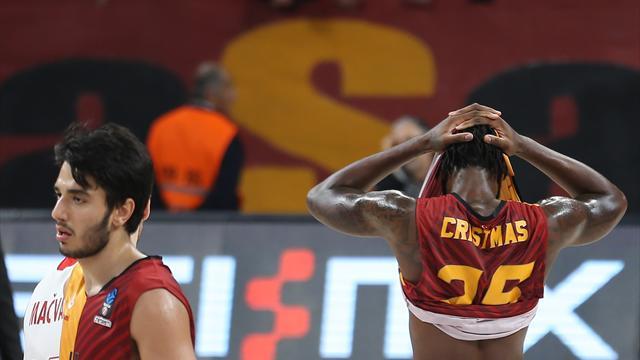 Galatasaray Odeabank, farklı mağlubiyetle başladı