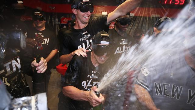 MLB: Yankees im Halbfinale - Cubs kassieren Ausgleich