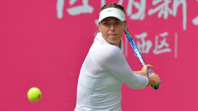 Шарапова впервые за 5 месяцев вышла в четвертьфинал