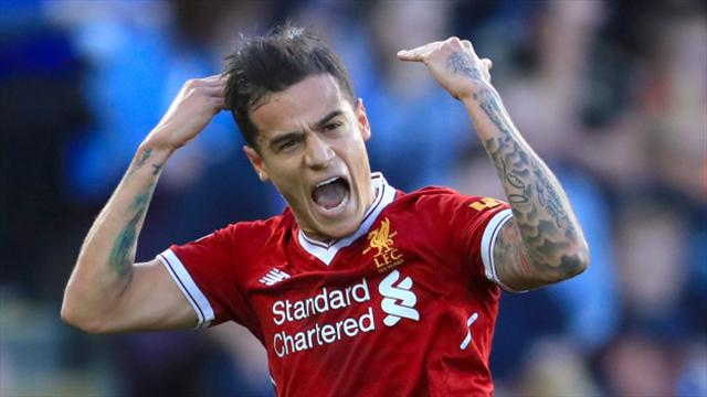 Barcelona 'ready to buy' Philippe Coutinho in January