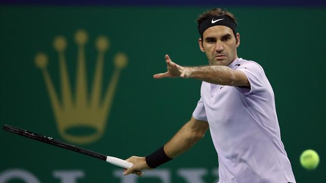 Un autorevole Federer doma Dolgopolov in due set e accede ai quarti