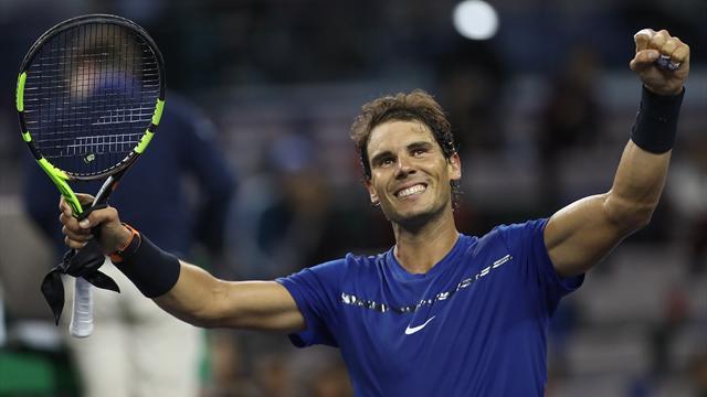 Federer joins Nadal in reaching Shanghai quarters