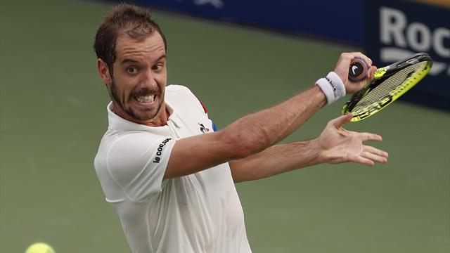 Gasquet a bataillé ferme pour retrouver Federer