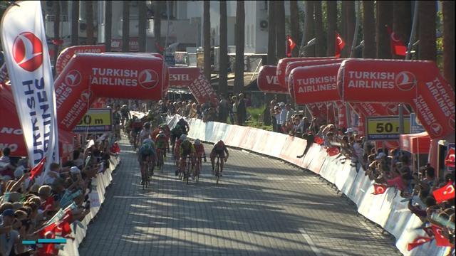 53. Cumhurbaşkanlığı Türkiye Bisiklet Turu: Sam Bennett 3. etapta da rakiplerine şans tanımadı