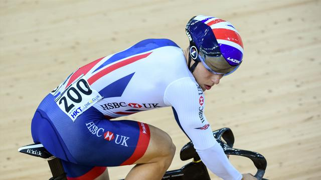 Owens gunning for more golds at Track Cycling World Cup