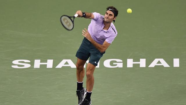 """Federer """"alla Federer"""": game vinto in soli 47 secondi!"""