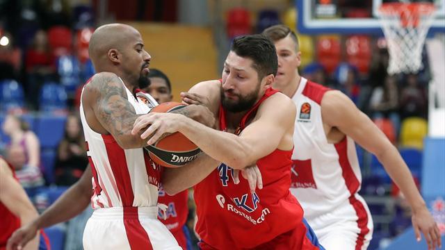 Un gran primo tempo non basta: l'Olimpia Milano si smarrisce e il CSKA Mosca vince all'esordio