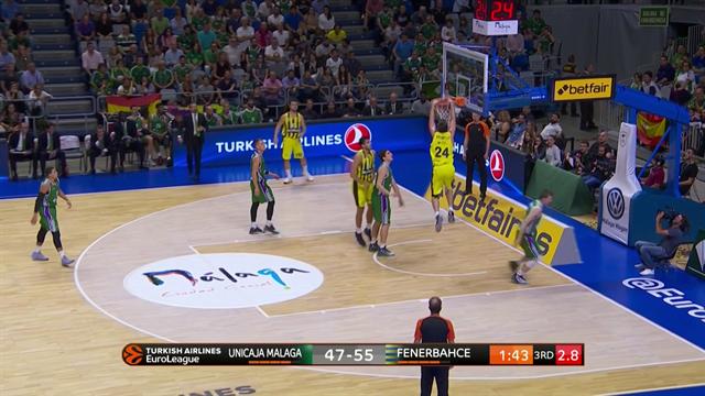 Highlights: Unicaja Malaga-Fenerbahçe Dogus Istanbul 68-67