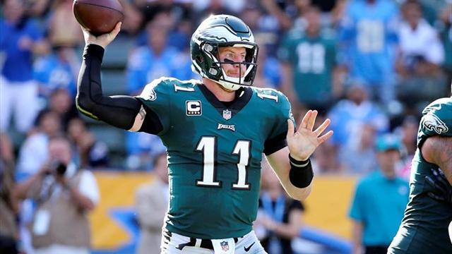 23-28. Wentz lidera triunfo de Eagles que consolidan liderato en la NFC
